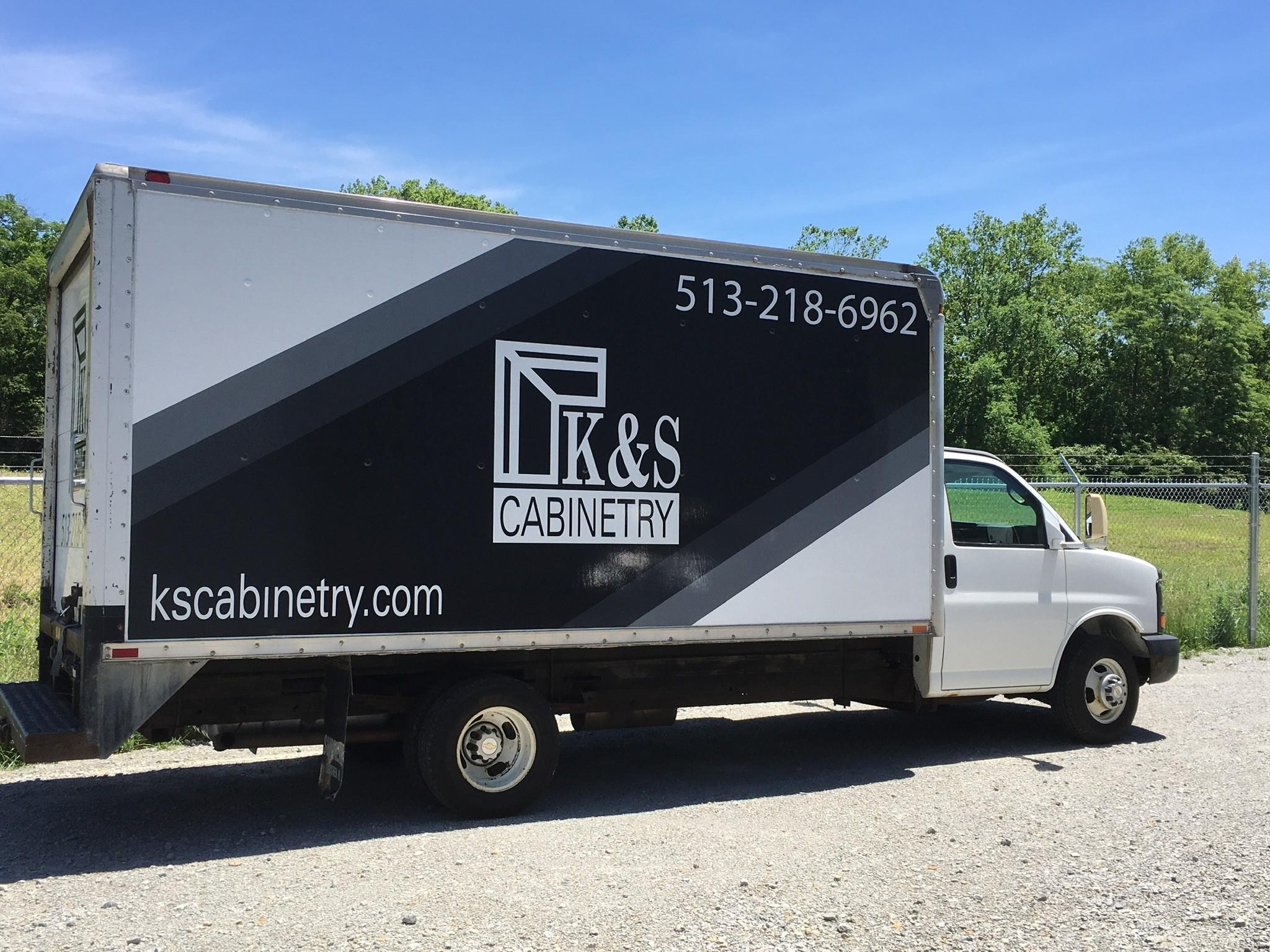 KS Cabinetry Truck
